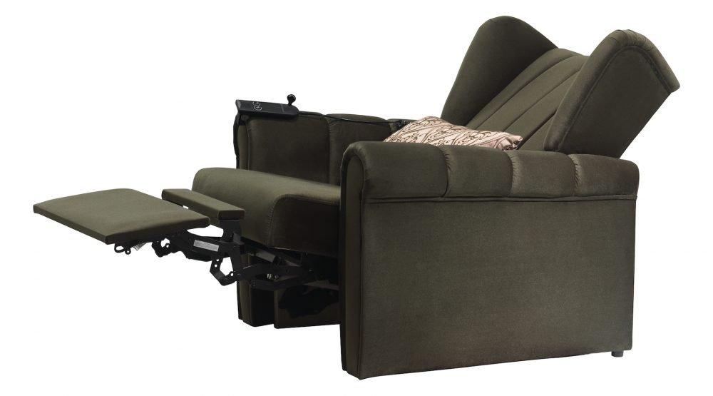 Wingback recliner